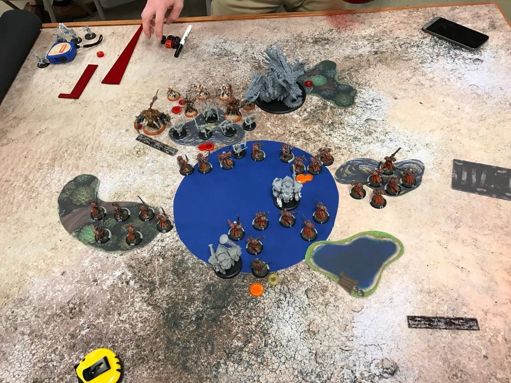 Battle Report Test #1 - Skorne Turn 2