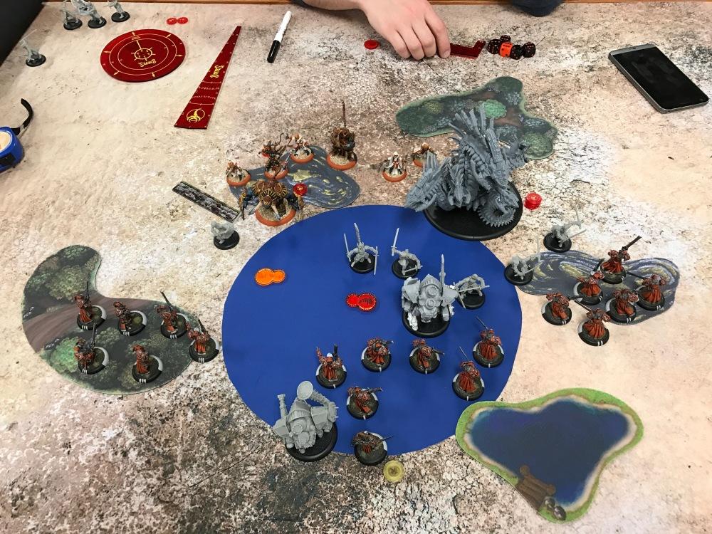 Battle Report Test #1 - Menoth Turn 3