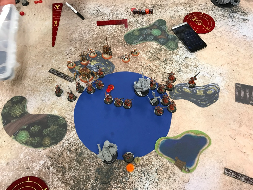 Battle Report Test #1 - Game End