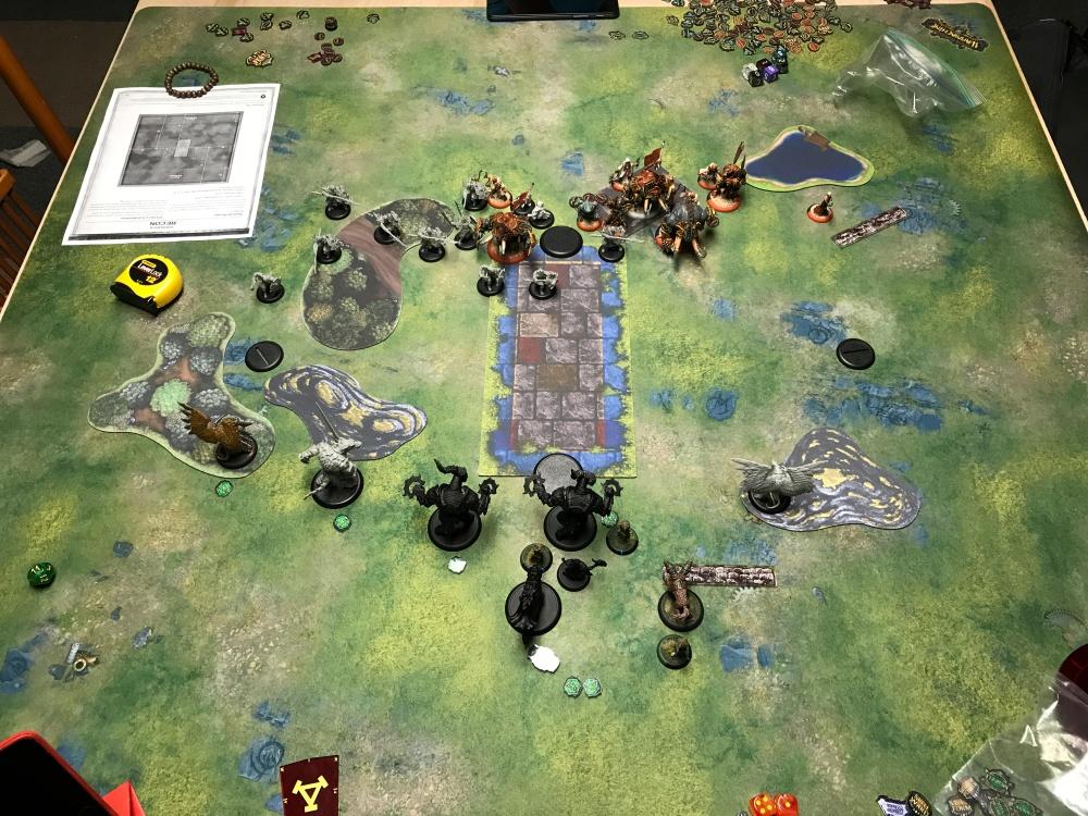 Battle Report #6 - End of Skorne Turn 1