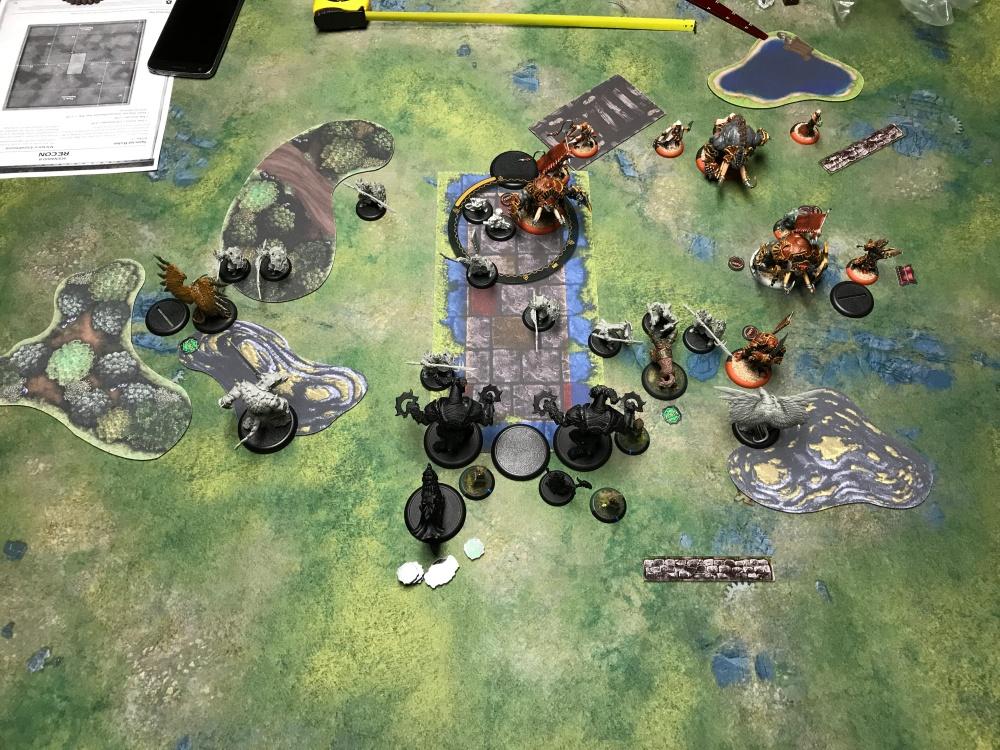 Battle Report #6 - End of Skorne Turn 2