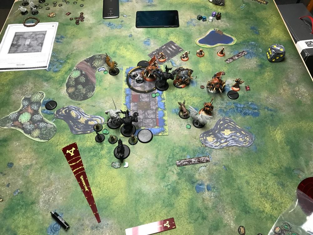 Battle Report #6 - End of Skorne Turn 3