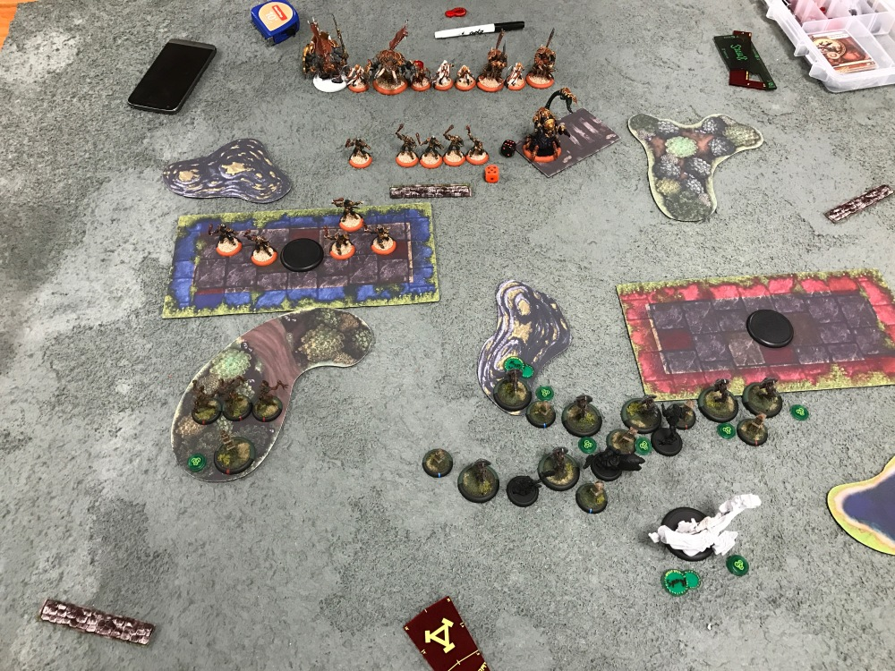 Battle Report Test #3 - End of Circle Turn 1