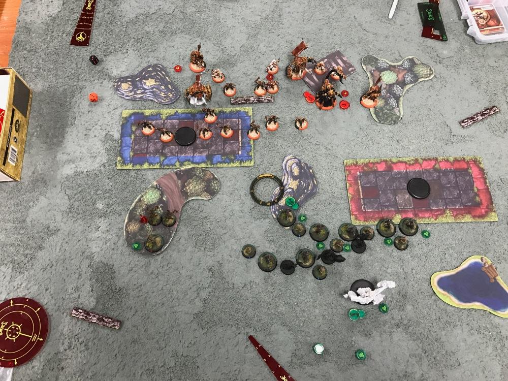 Battle Report Test #3 - End of Skorne Turn 1