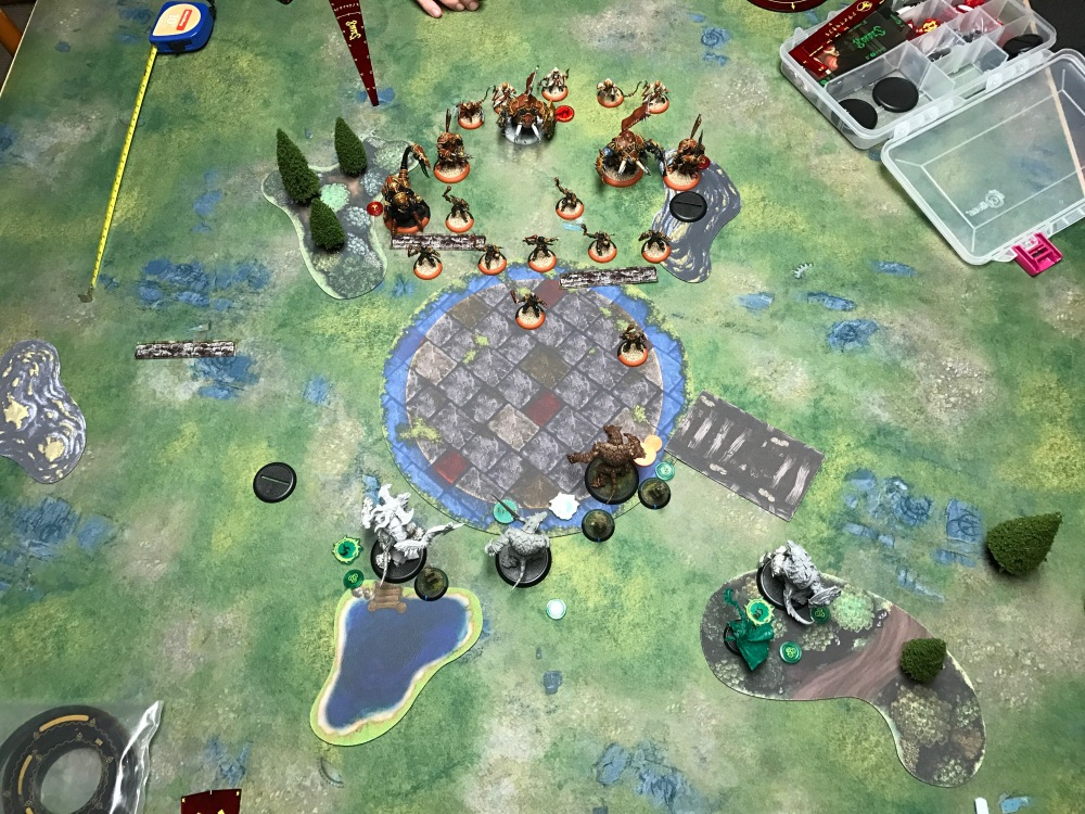 Battle Report Test #4 - End of Circle Turn 1