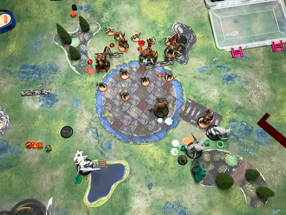 Battle Report Test #4 - End of Circle Turn 2