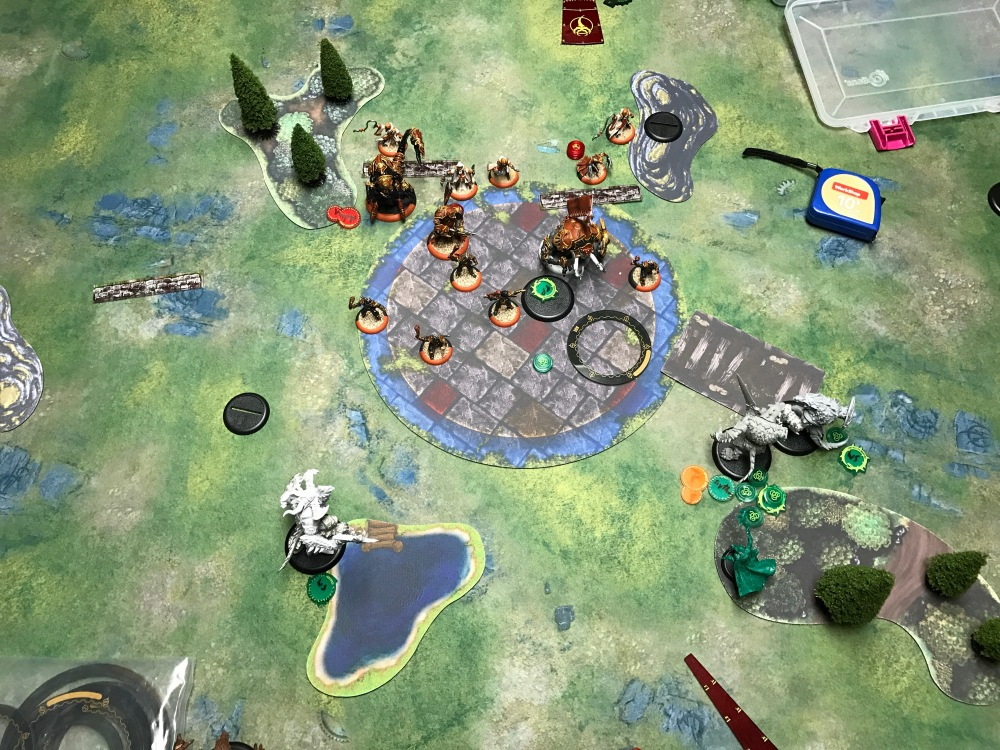 Battle Report Test #4 - End of Circle Turn 3