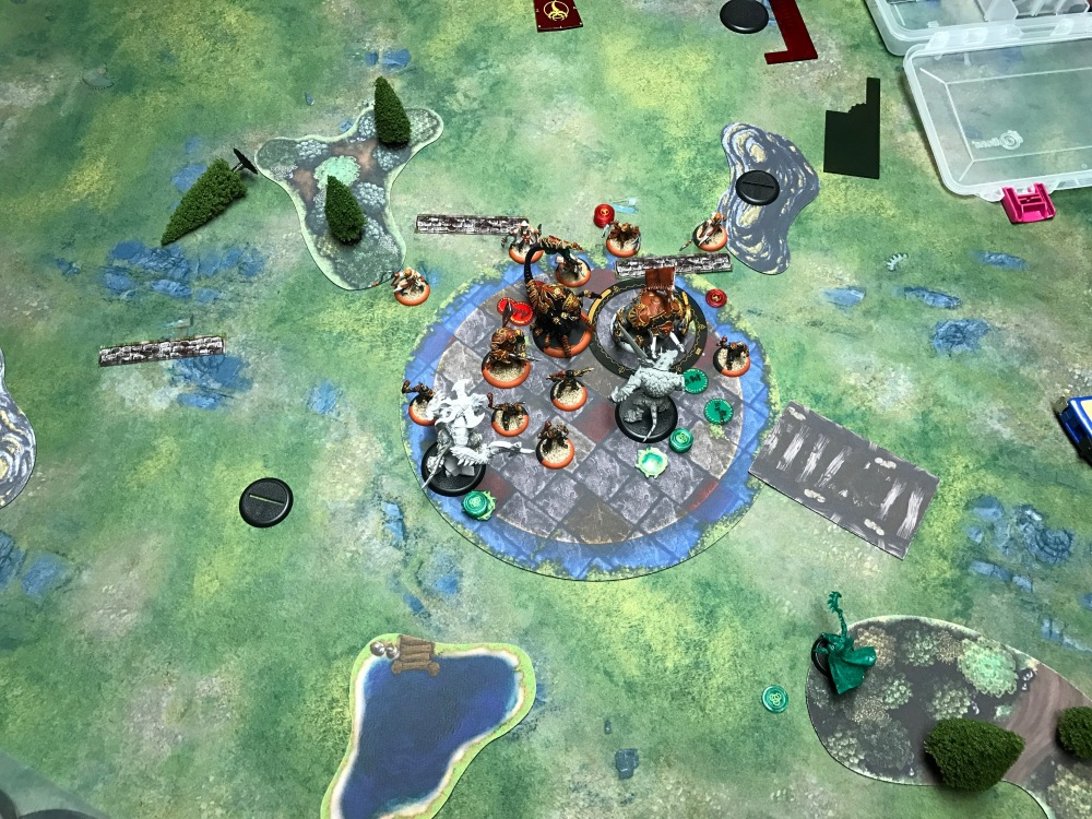 Battle Report Test #4 - End of Circle Turn 4