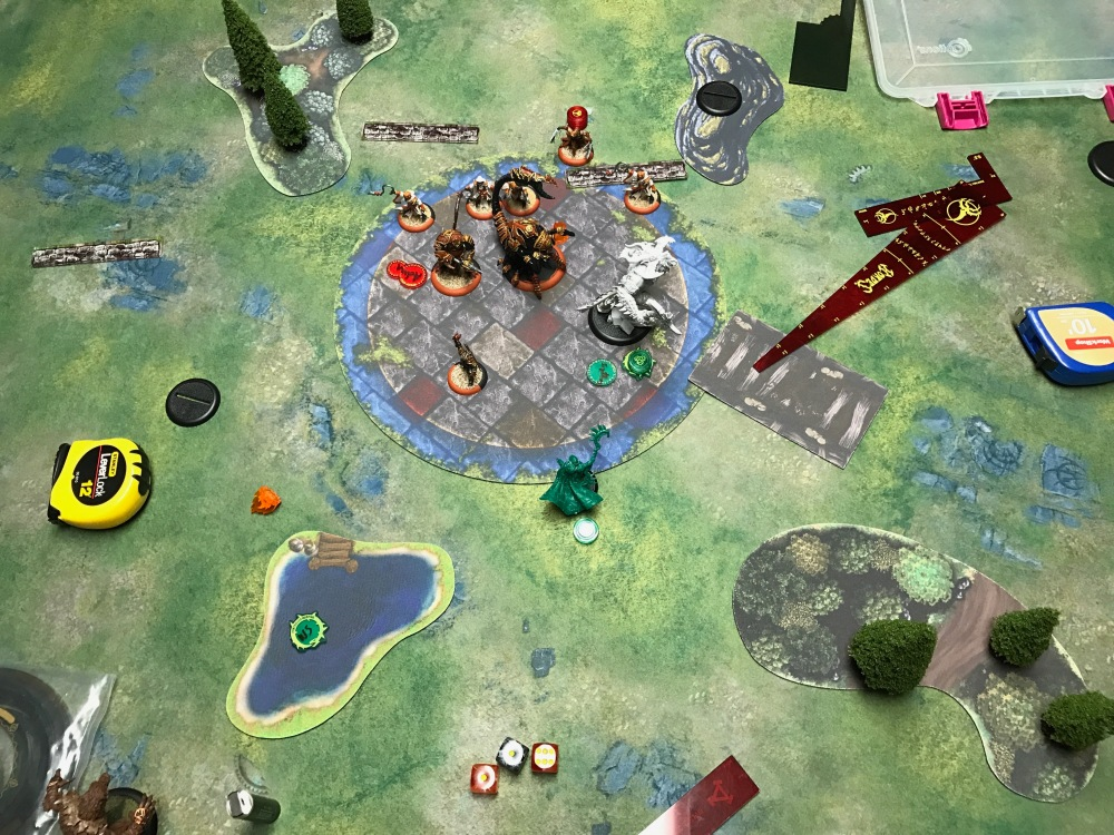 Battle Report Test #4 - End of Circle Turn 5