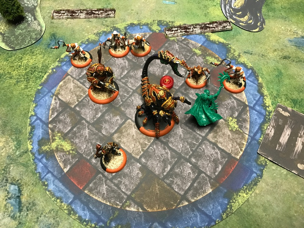 Battle Report Test #4 - End of Circle Turn 6