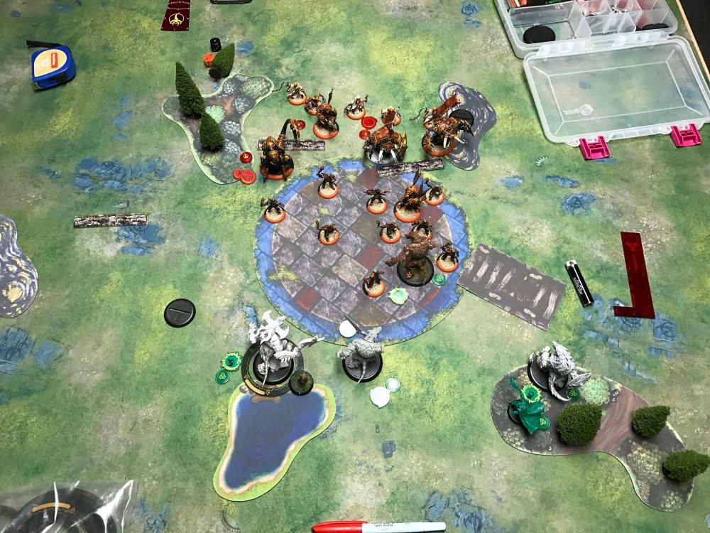 Battle Report Test #4 - End of Skorne Turn 2