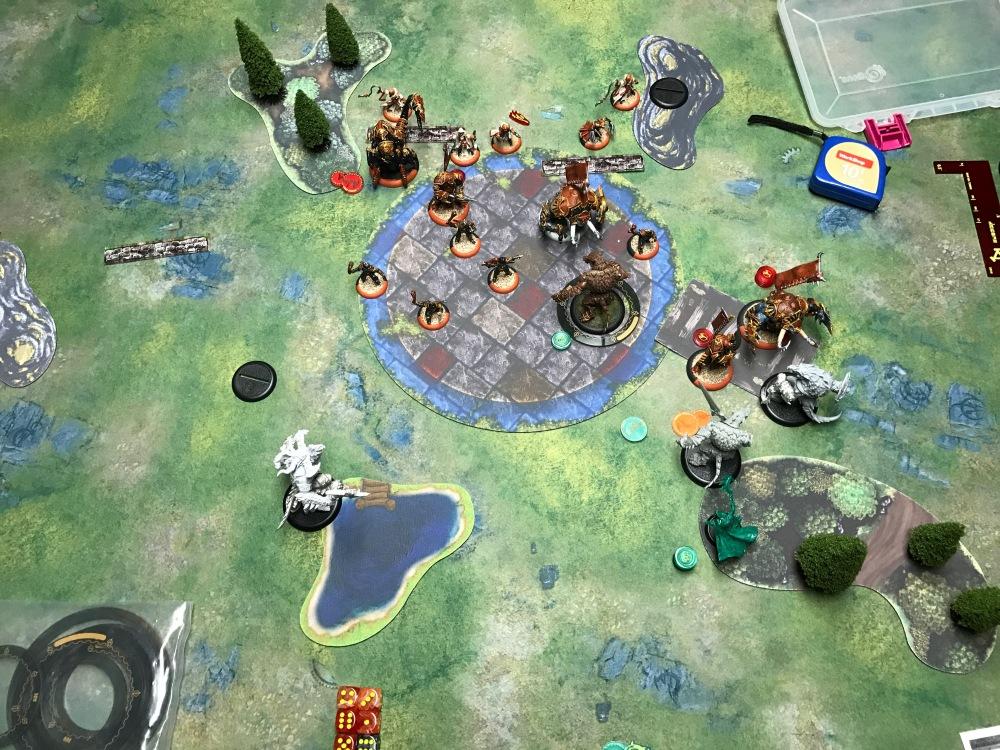 Battle Report Test #4 - End of Skorne Turn 3