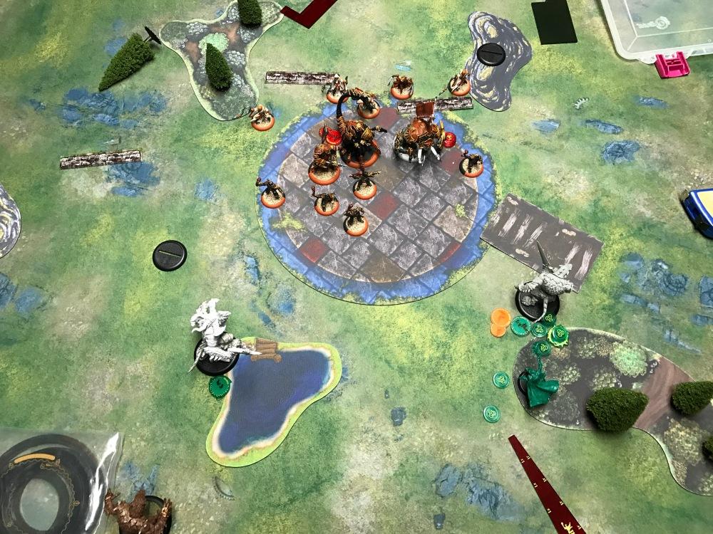 Battle Report Test #4 - End of Skorne Turn 4