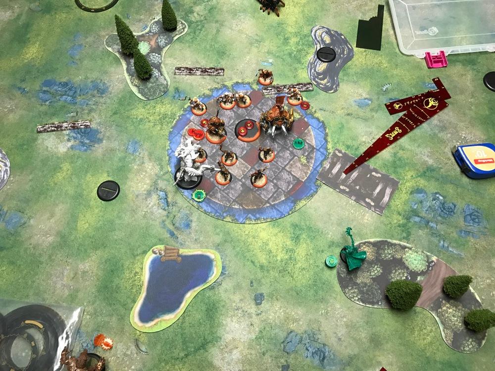 Battle Report Test #4 - End of Skorne Turn 5