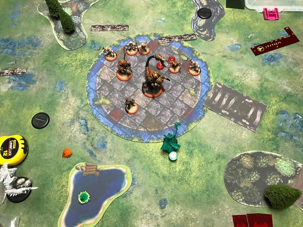 Battle Report Test #4 - End of Skorne Turn 6