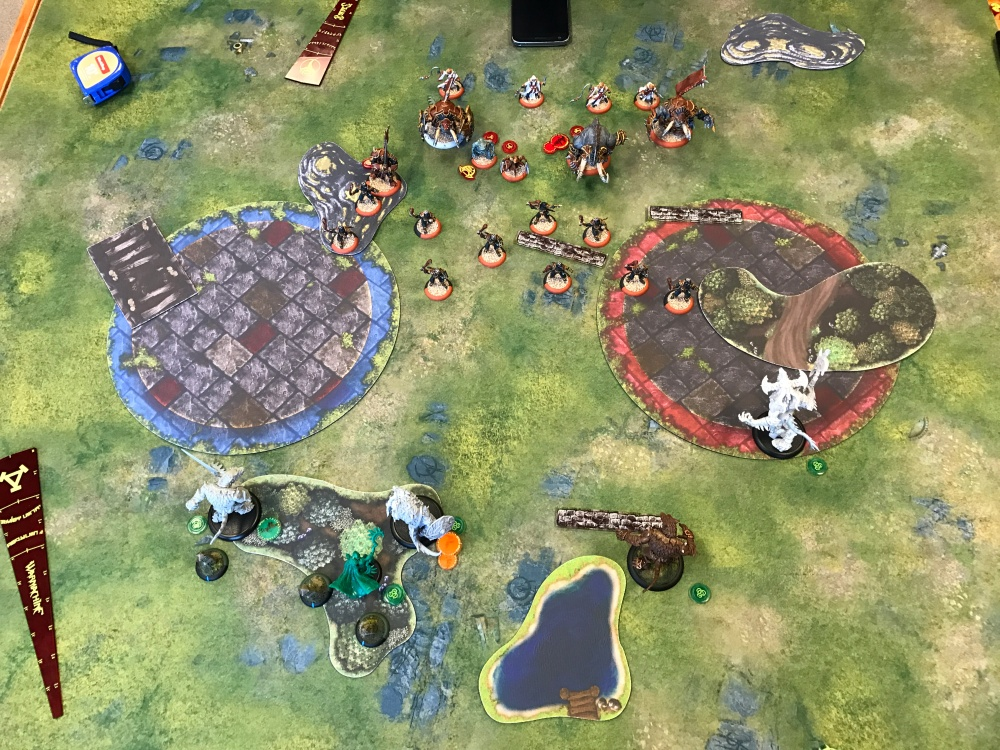 Battle Report Test #5 - End of Circle Turn 1