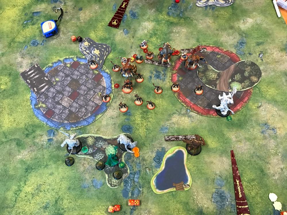 Battle Report Test #5 - End of Skorne Turn 2