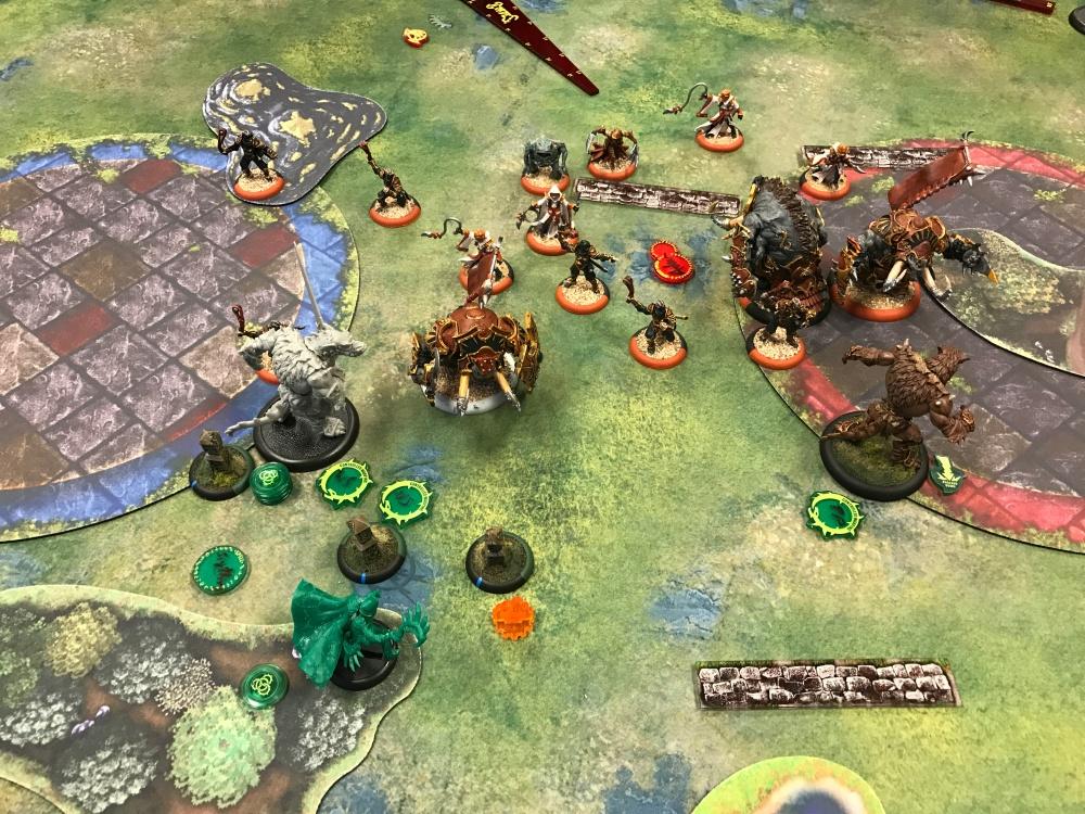 Battle Report Test #5 - End of Skorne Turn 3