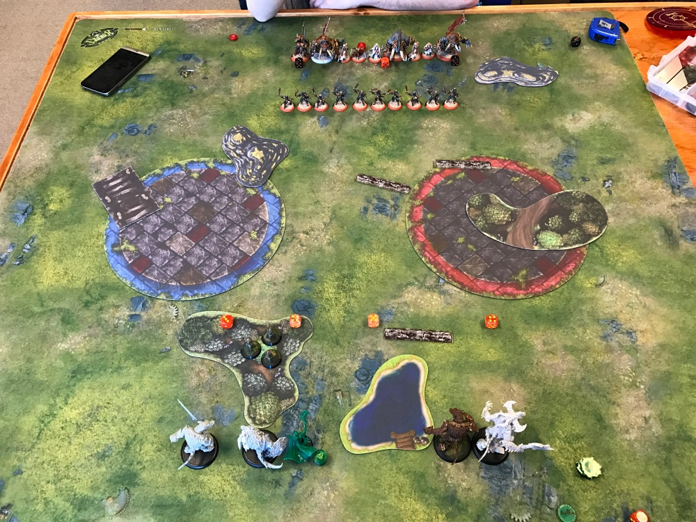 Battle Report Test #5 - Deployment