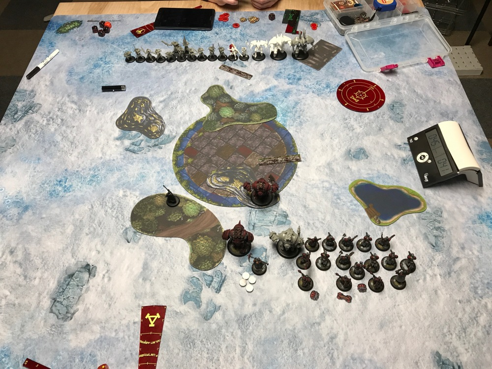 Battle Report #10 - End of Khador Turn 1