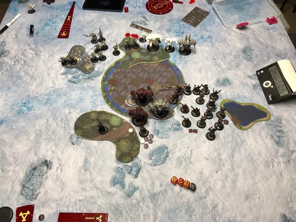 Battle Report #10 - End of Khador Turn 2
