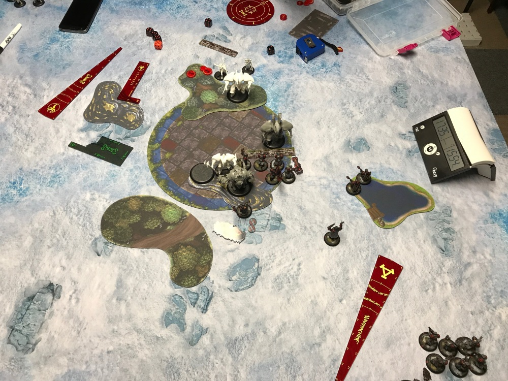 Battle Report #10 - End of Khador Turn 4