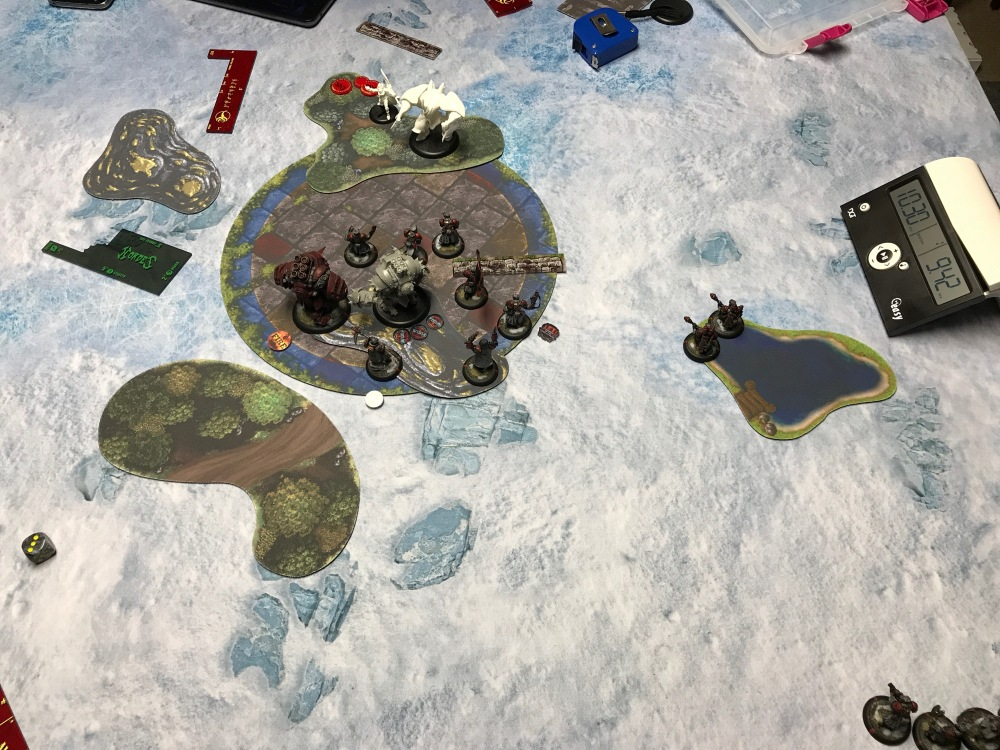 Battle Report #10 - End of Khador Turn 5