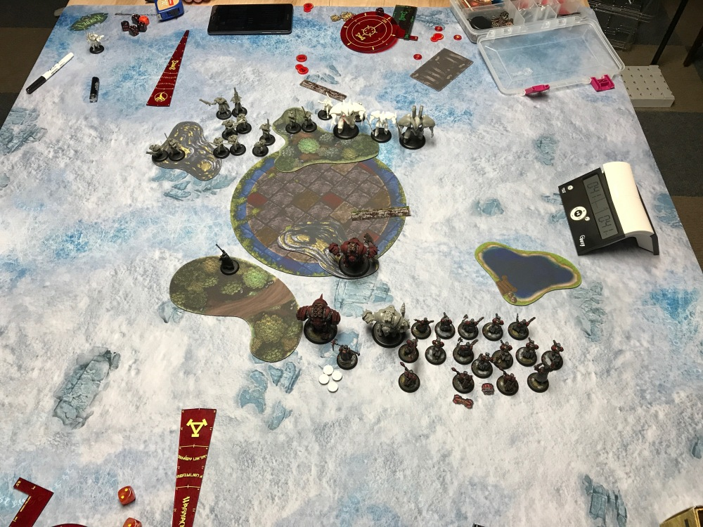 Battle Report #10 - End of Retributino Turn 1