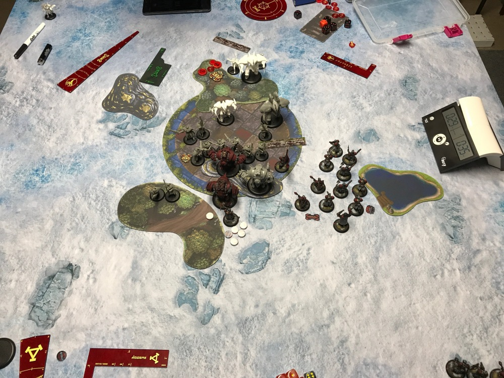 Battle Report #10 - End of Retribution Turn 2