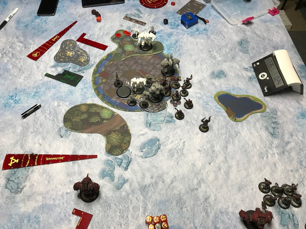 Battle Report #10 - End of Retribution Turn 3