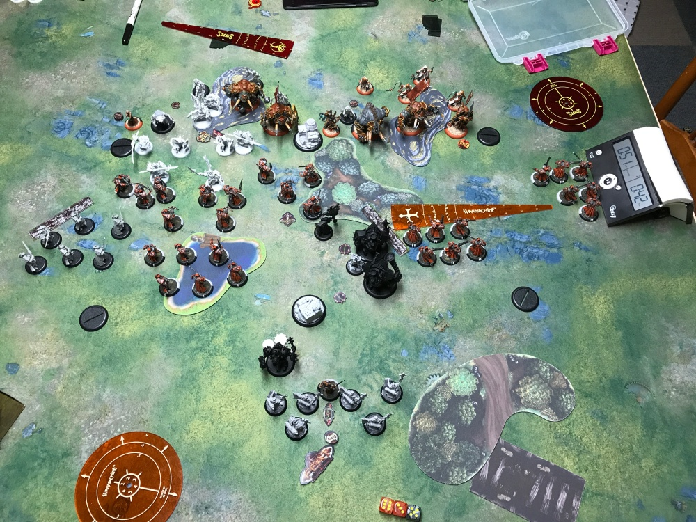 Battle Report #11 - End of Menoth Turn 2