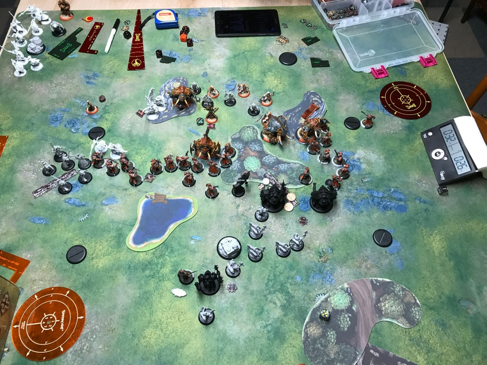 Battle Report #11 - End of Menoth Turn 3