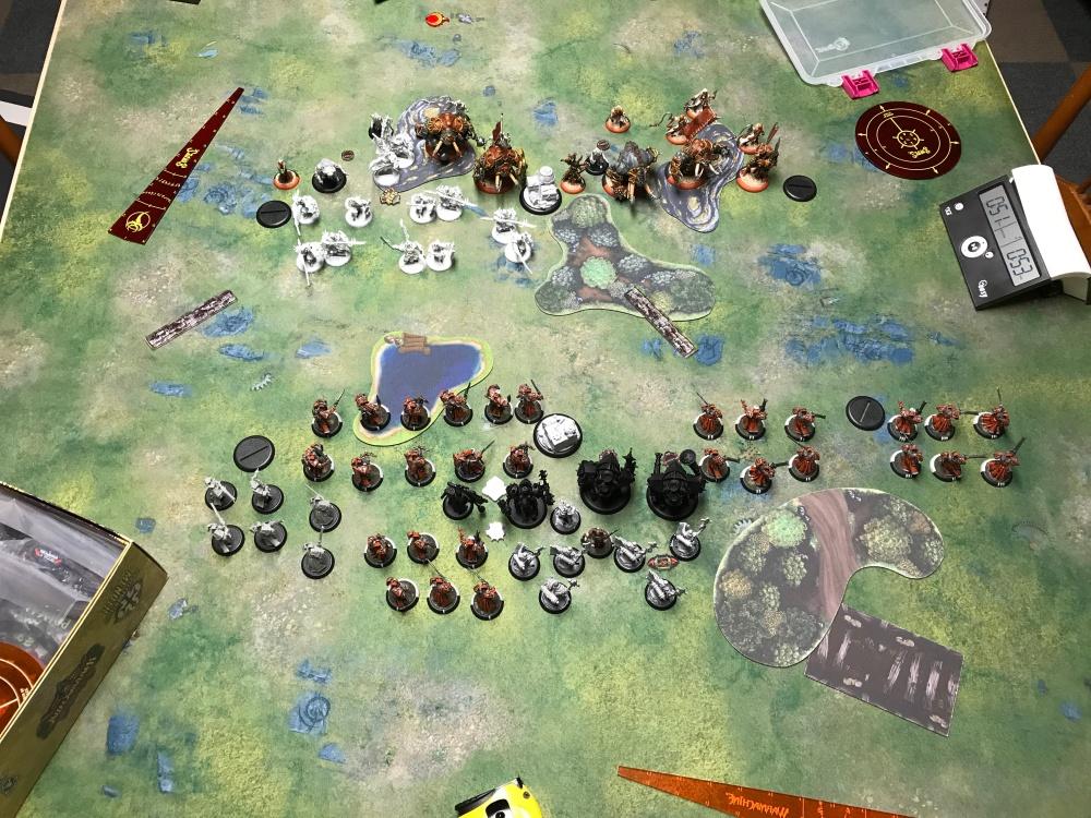 Battle Report #11 - End of Skorne Turn 1