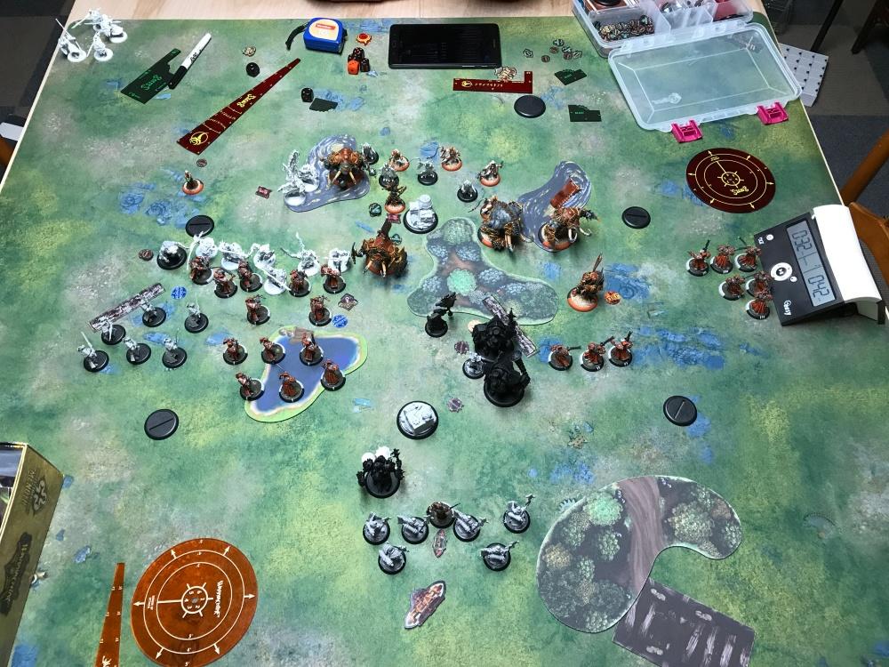 Battle Report #11 - End of Skorne Turn 2