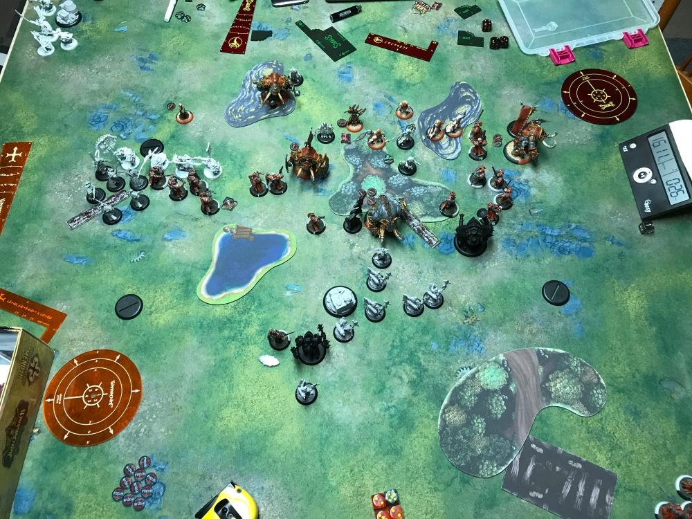 Battle Report #11 - End of Skorne Turn 3