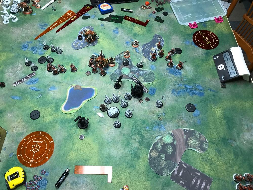 Battle Report #11 - End of Skorne Turn 4