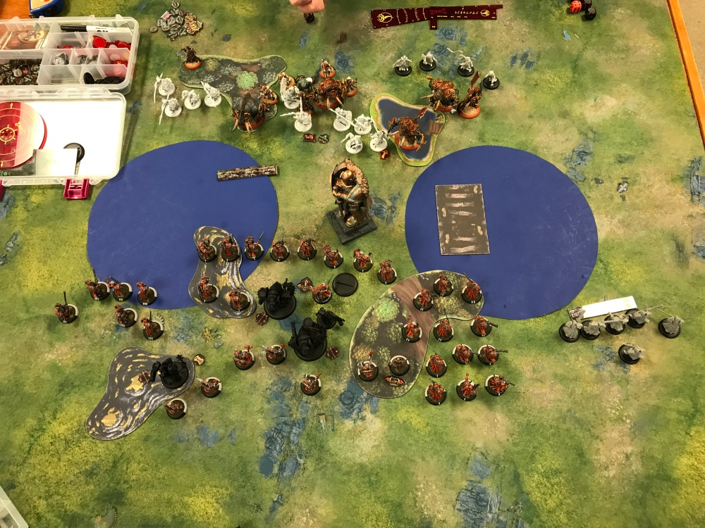 Battle Report #12 - End of Menoth Turn 1
