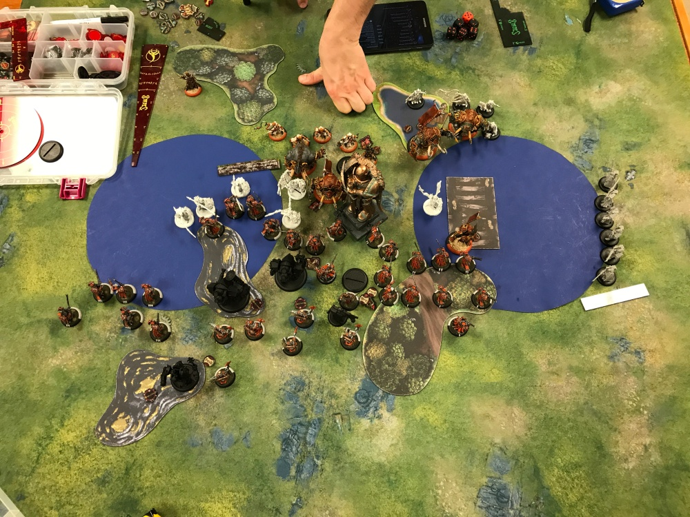 Battle Report #12 - End of Menoth Turn 2