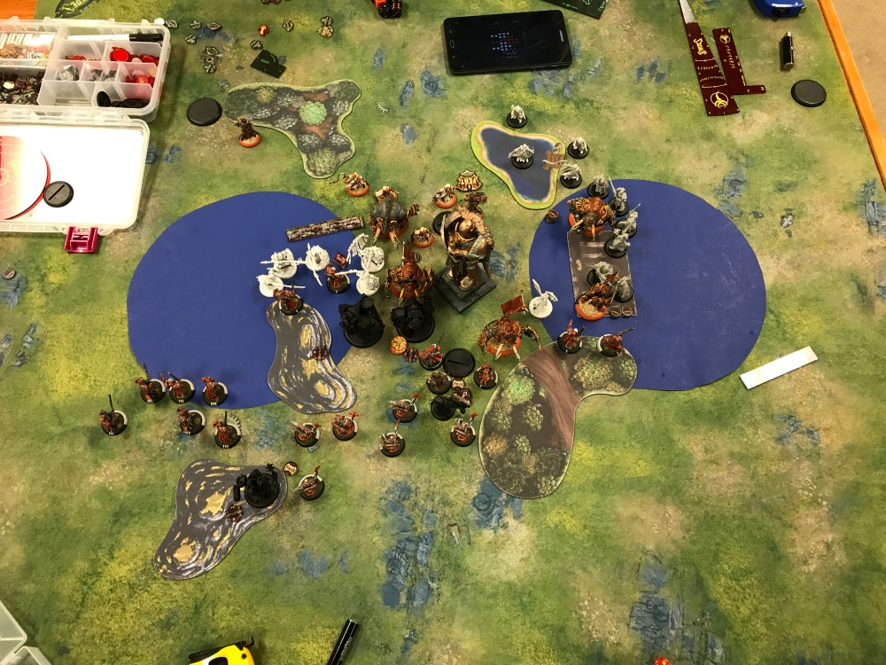 Battle Report #12 - End of Menoth Turn 3
