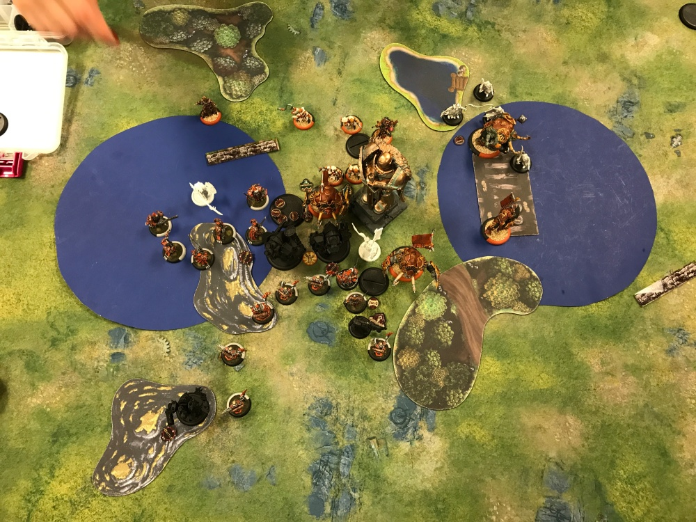 Battle Report #12 - End of Menoth Turn 4