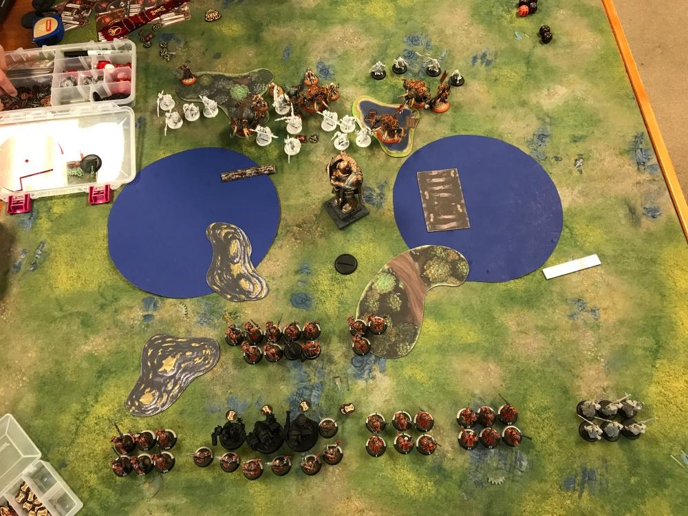 Battle Report #12 - End of Skorne Turn 1