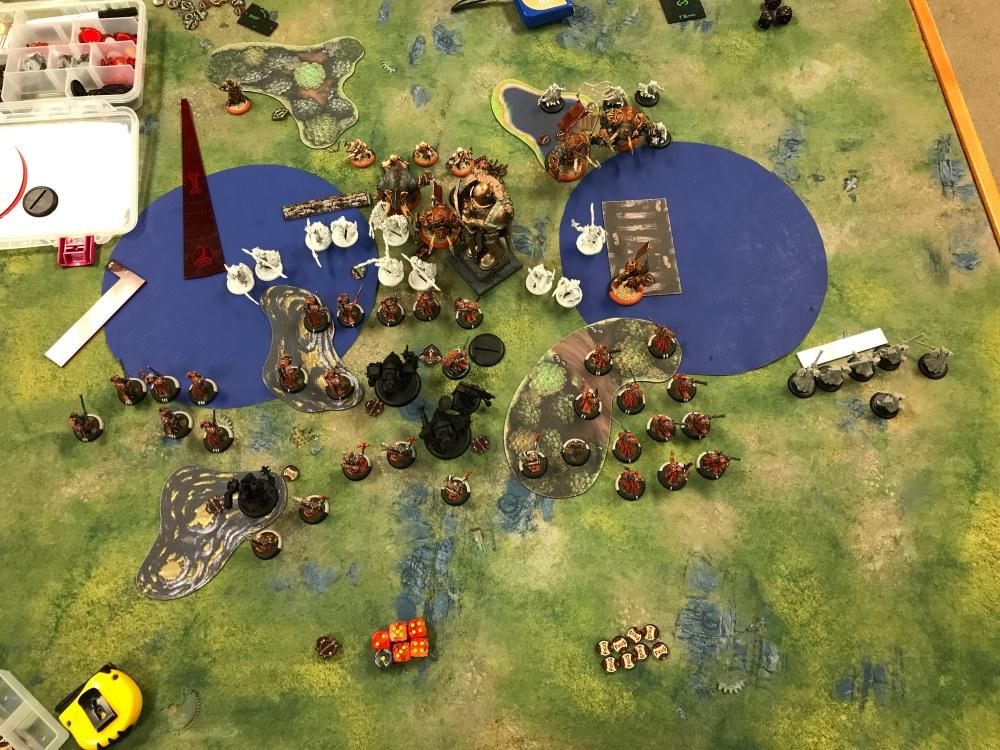 Battle Report #12 - End of Skorne Turn 2