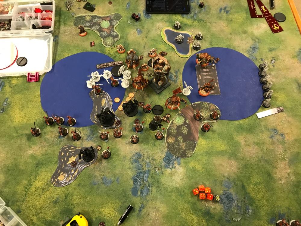 Battle Report #12 - End of Skorne Turn 3