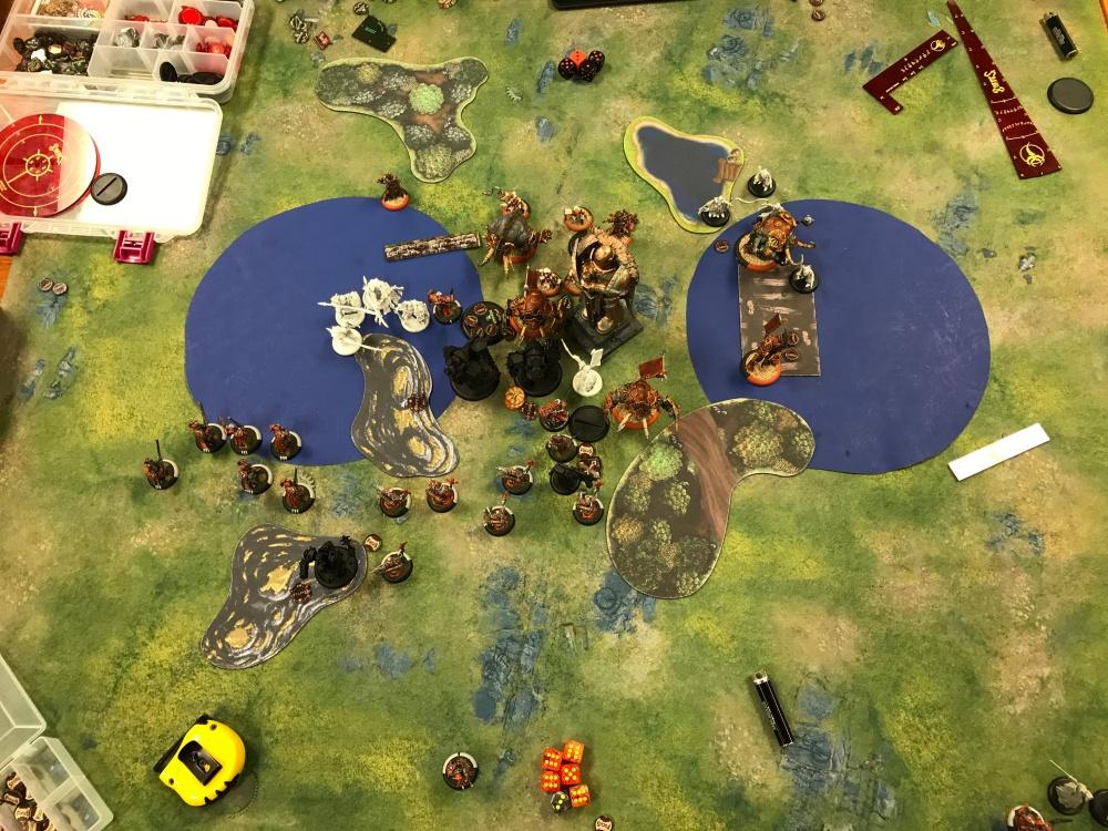 Battle Report #12 - End of Skorne Turn 4