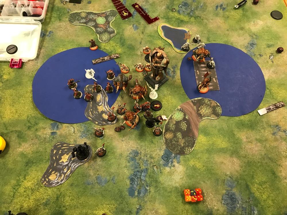 Battle Report #12 - End of Skorne Turn 5