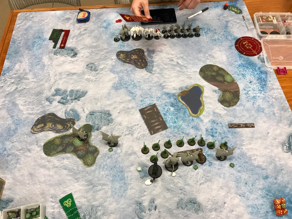 Battle Report #7 - End of Circle Turn 1