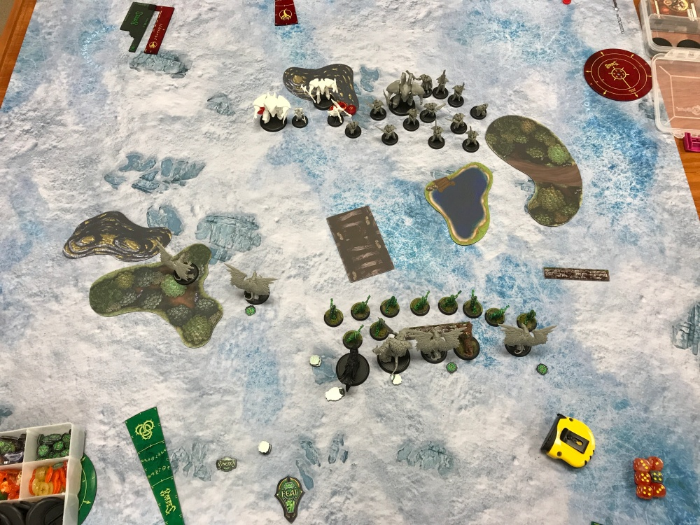 Battle Report #7 - End of Retribution Turn 1