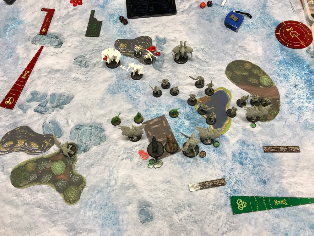 Battle Report #7 - End of Retribution Turn 2