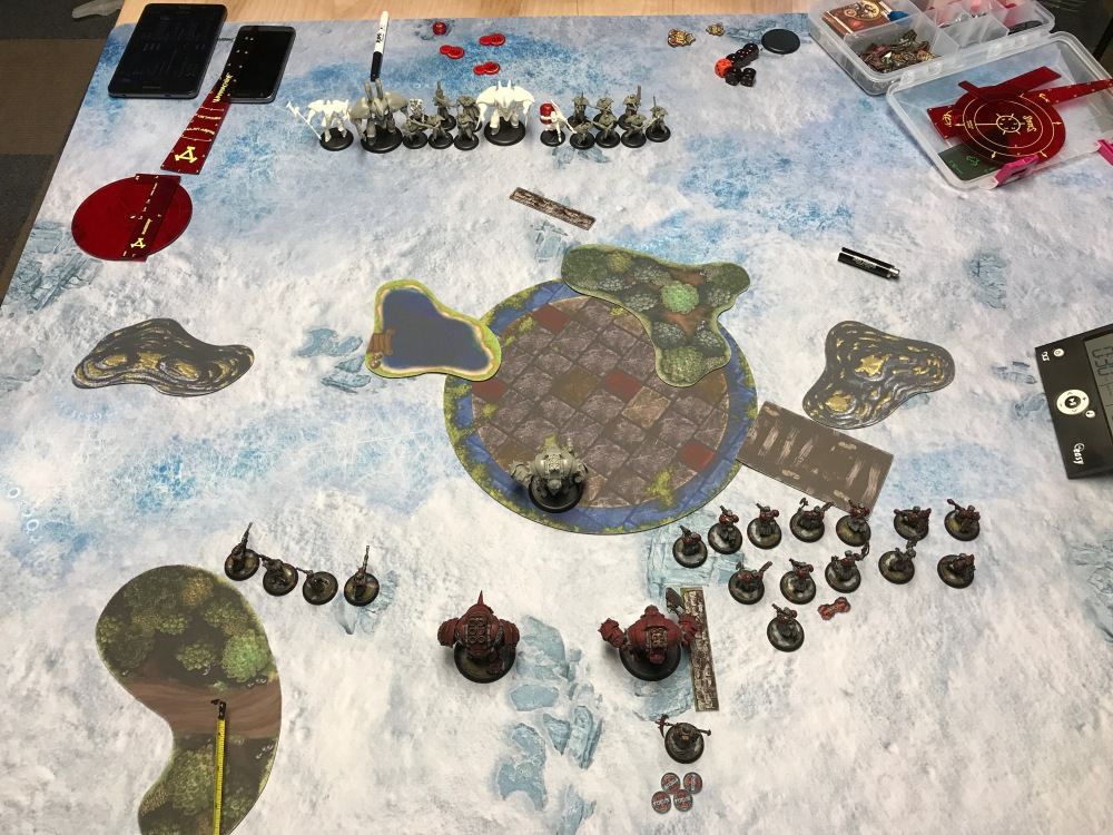 Battle Report #9 - End of Khador Turn 1