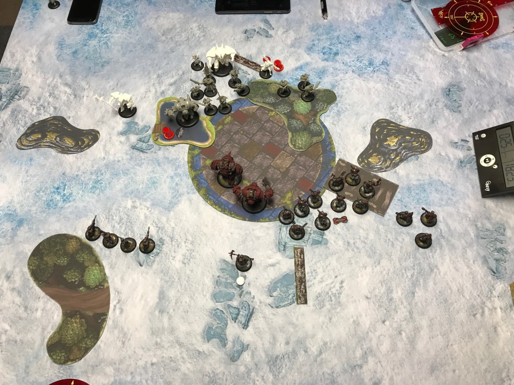 Battle Report #9 - End of Khador Turn 2